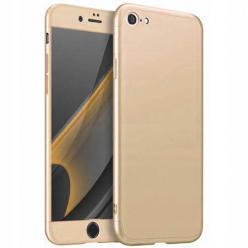 Etui na iPhone SE 2020 - Slim MattE 360 - Złoty