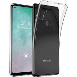 Etui na Samsung Galaxy M11 silikonowe Slim Crystal Case Przezroczyste