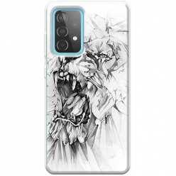 Etui na Samsung Galaxy A52 5G Król lew rysunkowy