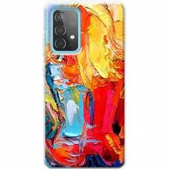 Etui na Samsung Galaxy A52 5G Paleta kolorowych barw