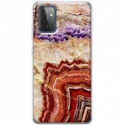 Etui na Samsung Galaxy A72 5G Czerwony Agat