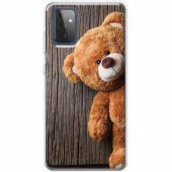 Etui na Samsung Galaxy A72 5G Misio pluszowy