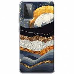 Etui na Samsung Galaxy A72 5G Marmurowy zachód słońca