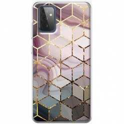 Etui na Samsung Galaxy A72 5G Geometryczne romby