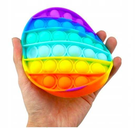 Push Bubble Pop It Zabawka Sensoryczna - kolko