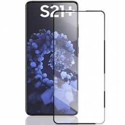 Samsung Galaxy S21 Plus Szkło Hartowane 5D Full Glue Szybka - Czarny