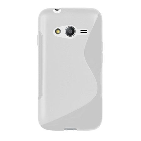 Galaxy Ace 4 etui S-line gumowe przezroczyste. PROMOCJA!!!