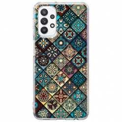 Etui na Samsung Galaxy A32 5G Damaszkowa mozaika