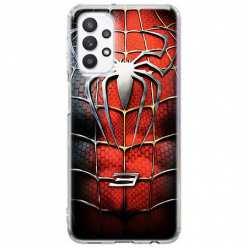 Etui na Samsung Galaxy A32 5G Stalowy spider 3