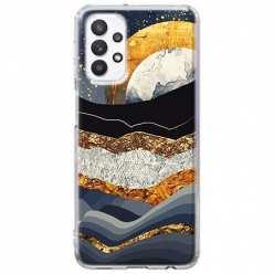 Etui na Samsung Galaxy A32 5G Marmurowy zachód słońca