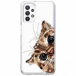 Etui na Samsung Galaxy A32 5G Wścipski kotek