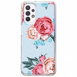 Etui na Samsung Galaxy A32 5G Bukiet tradycyjnych róż