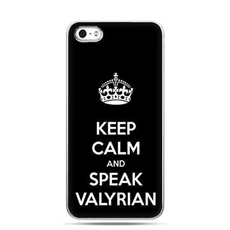 Etui na telefon Gra o Tron Keep Calm...Valkyria