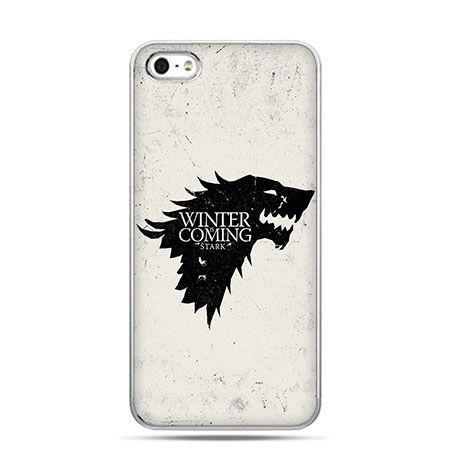 Etui na telefon Gra o Tron Winter is coming czarna