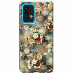 Etui na Samsung Galaxy A02s Bukiet kolorowych róż
