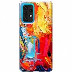 Etui na Samsung Galaxy A02s Paleta kolorowych barw
