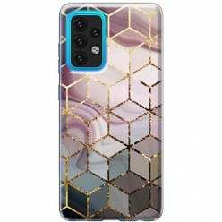 Etui na Samsung Galaxy A02s Geometryczne romby
