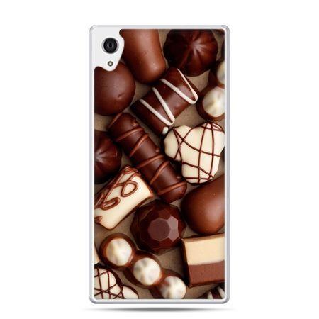 Etui na Xperia M4 Aqua czekoladki