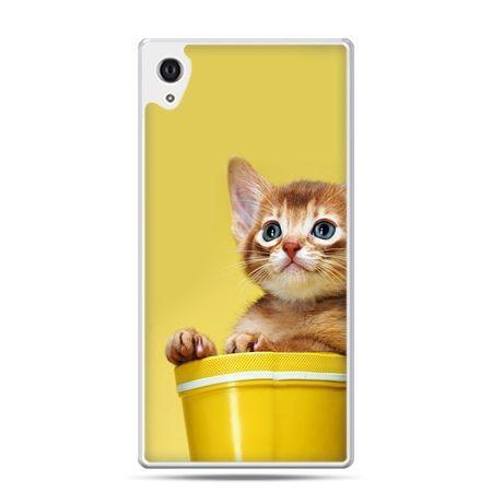 Etui na Xperia M4 Aqua kot w doniczce