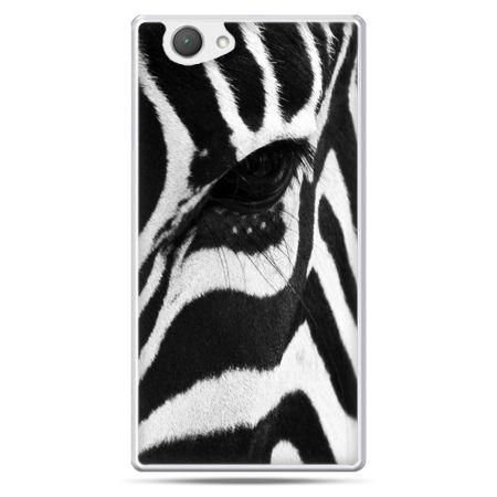 Xperia Z1 compact etui zebra