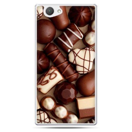 Xperia Z1 compact etui czekoladki