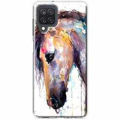 Etui na Samsung Galaxy M12 Koń waterkolor