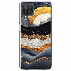 Etui na Samsung Galaxy M12 Marmurowy zachód słońca