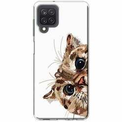 Etui na Samsung Galaxy M12 Wścipski kotek