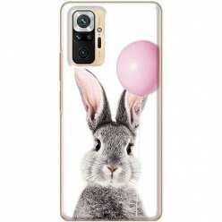 Etui na Xiaomi Redmi Note 10 Pro Wesoły królik z balonikiem