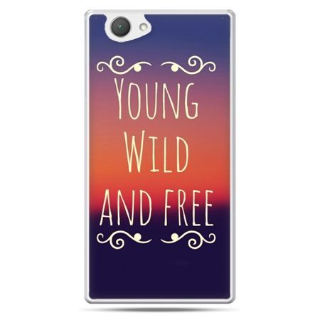 Xperia Z1 compact etui Young wild and free