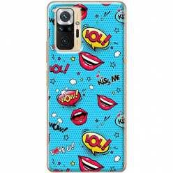 Etui na Xiaomi Redmi Note 10 Pro Kiss Me… LOL! Usta