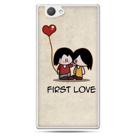 Xperia Z1 compact etui First Love