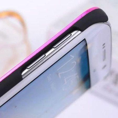 Galaxy S6 edge etui Motomo aluminiowe różowy. PROMOCJA !!!