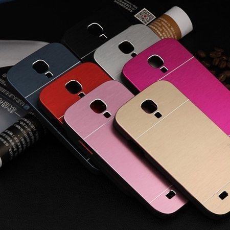 Galaxy S4 etui Motomo aluminiowe czerwony. PROMOCJA !!!