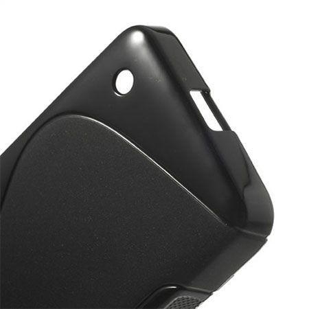 Nokia 630 etui S-line gumowe czarne miękkie
