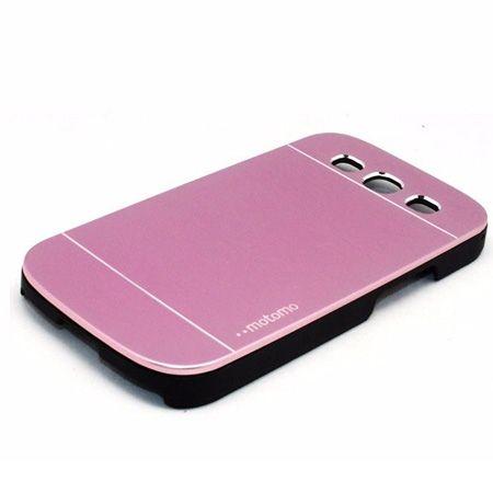 Galaxy S3 etui Motomo aluminiowe różowy. PROMOCJA !!!