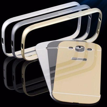 Galaxy S3 etui aluminium bumper case złoty