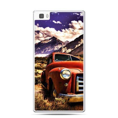 Huawei P8 Lite etui retro pick-up