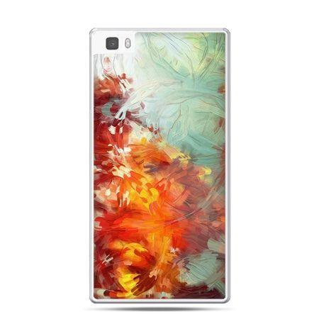 Huawei P8 Lite etui kolorowy obraz