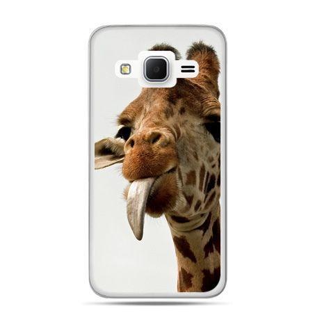 Galaxy Grand Prime etui żyrafa z językiem