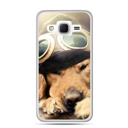 Galaxy Grand Prime etui pies w okularach