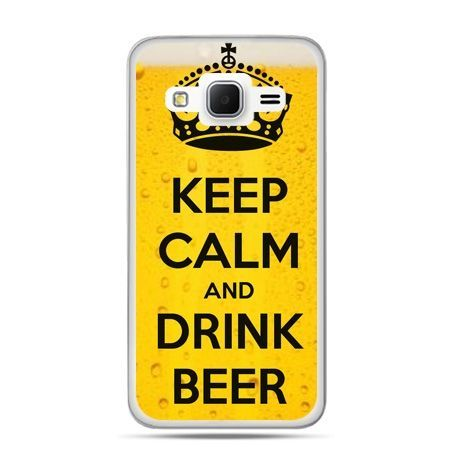 Galaxy Grand Prime etui Keep calm and drink beer
