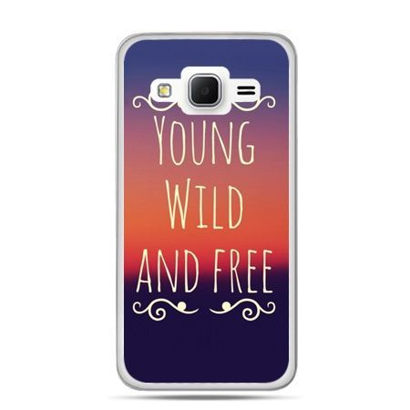 Galaxy Grand Prime etui Young wild and free