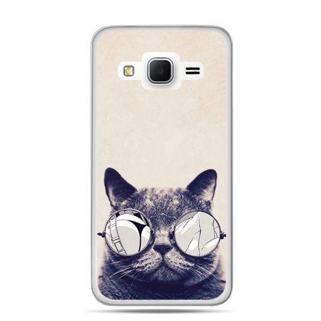 Galaxy Grand Prime etui kot w okularach