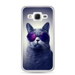Galaxy Grand Prime etui kot hipster w okularach