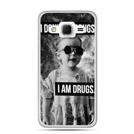 Galaxy Grand Prime etui I don`t do drugs I am drugs