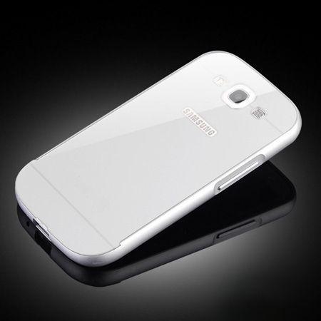 Galaxy S3 etui aluminium bumper case srebrny