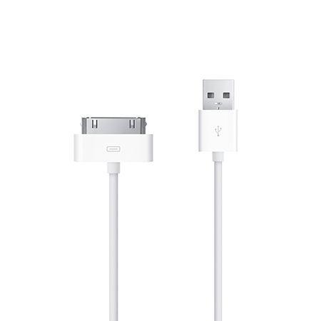 iPhone 4, 4s kabel do ładowania biały, 1m