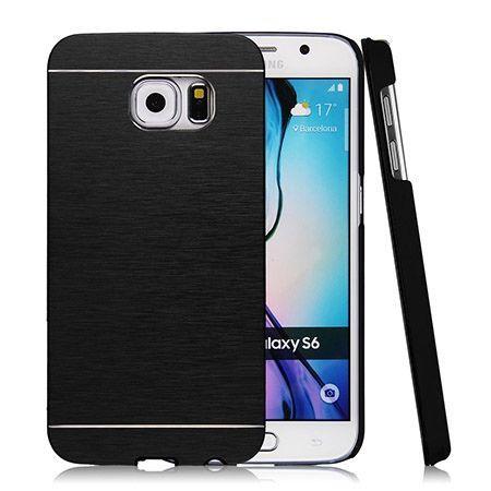Galaxy S6 edge etui Motomo aluminiowe czarny. PROMOCJA !!!