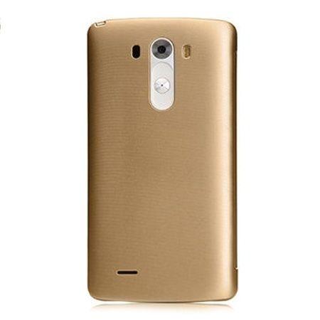 LG G3s etui Flip S View Circle złoty